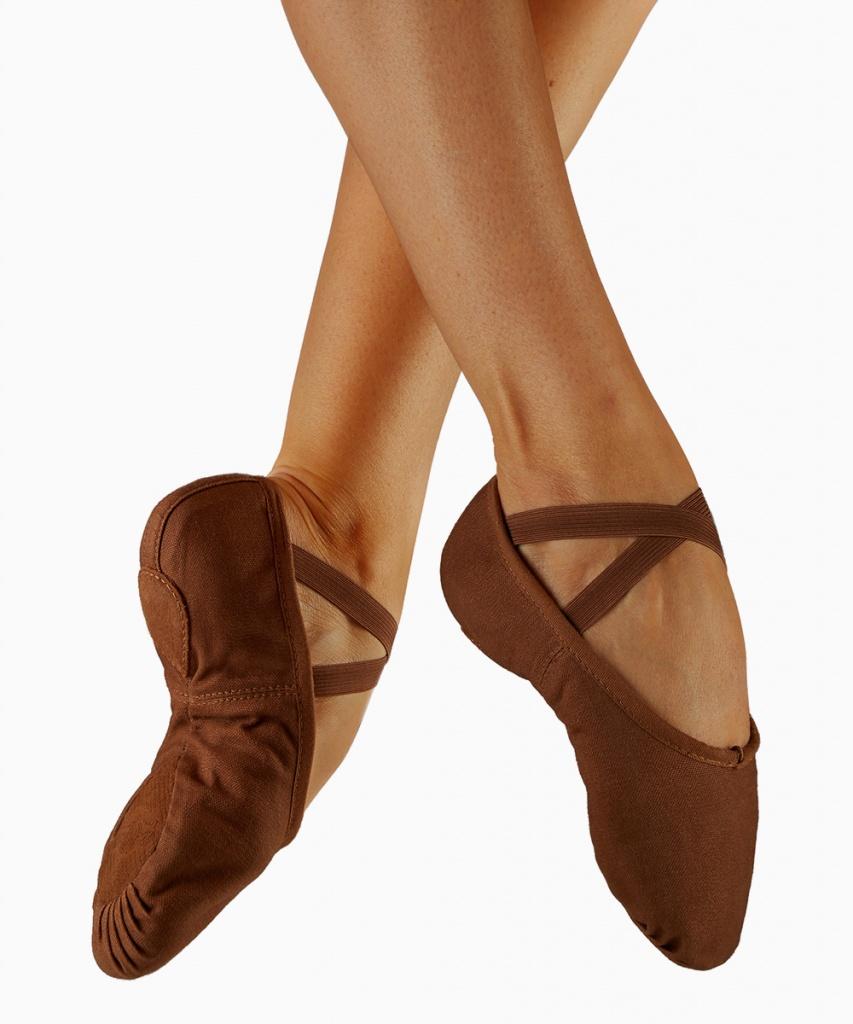 S0277L Pump balettsko brun