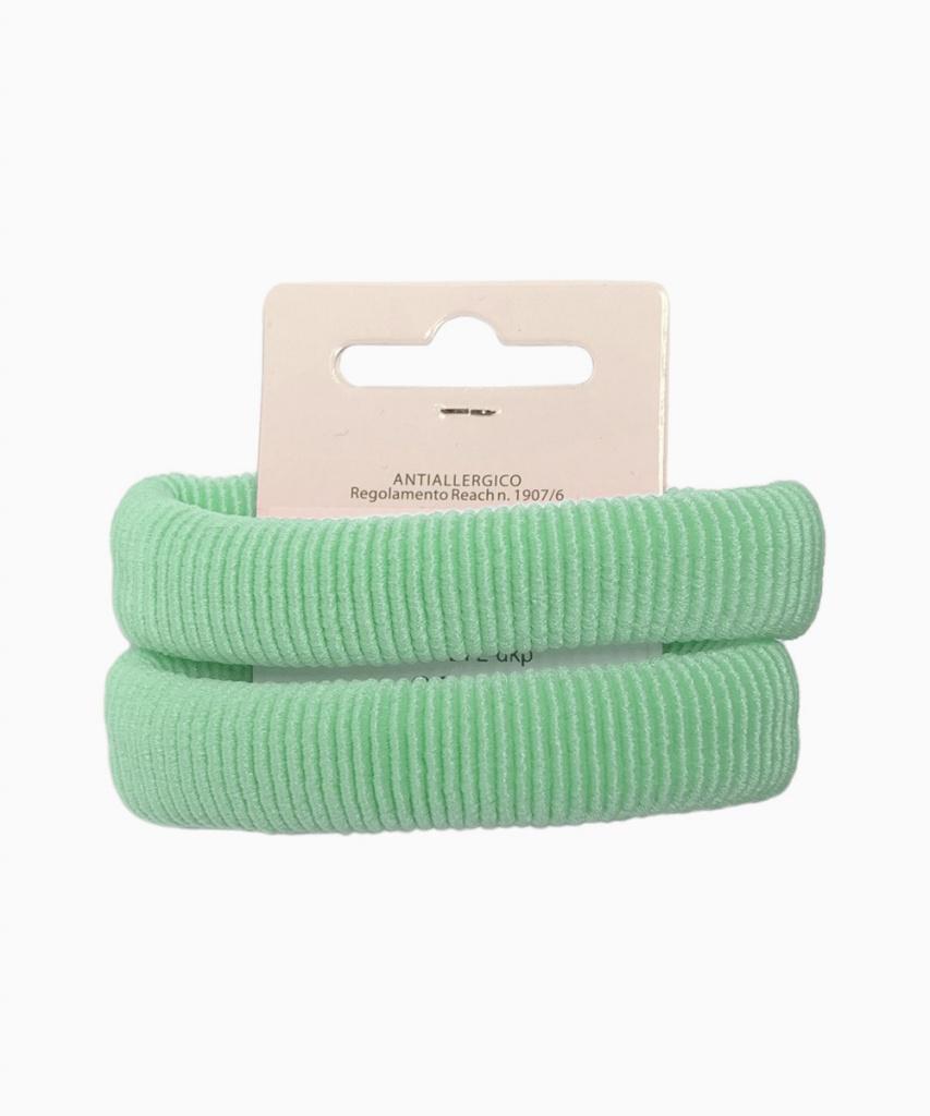 Hårsnodd 2-pack Ljusgrön
