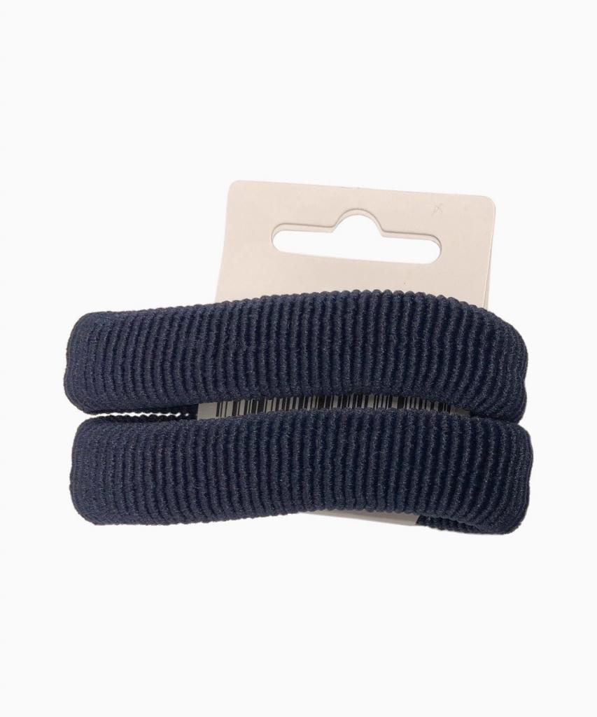 Hårsnodd 2-pack marinblå