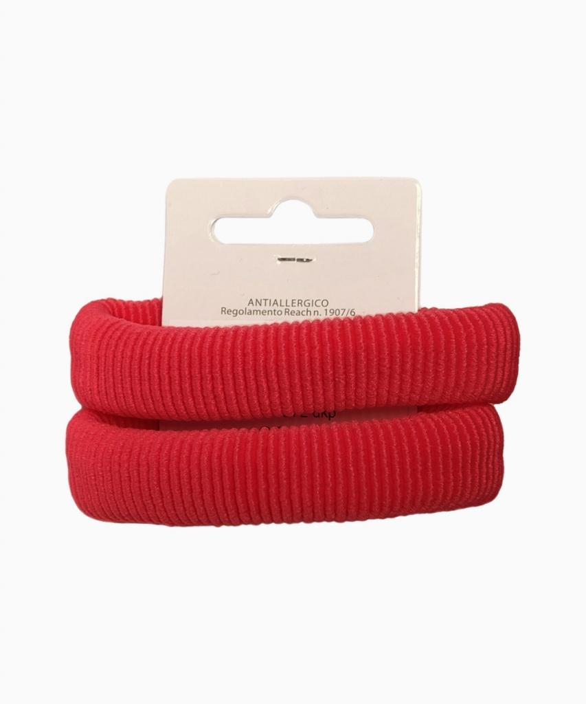 Hårsnodd 2-pack Röd