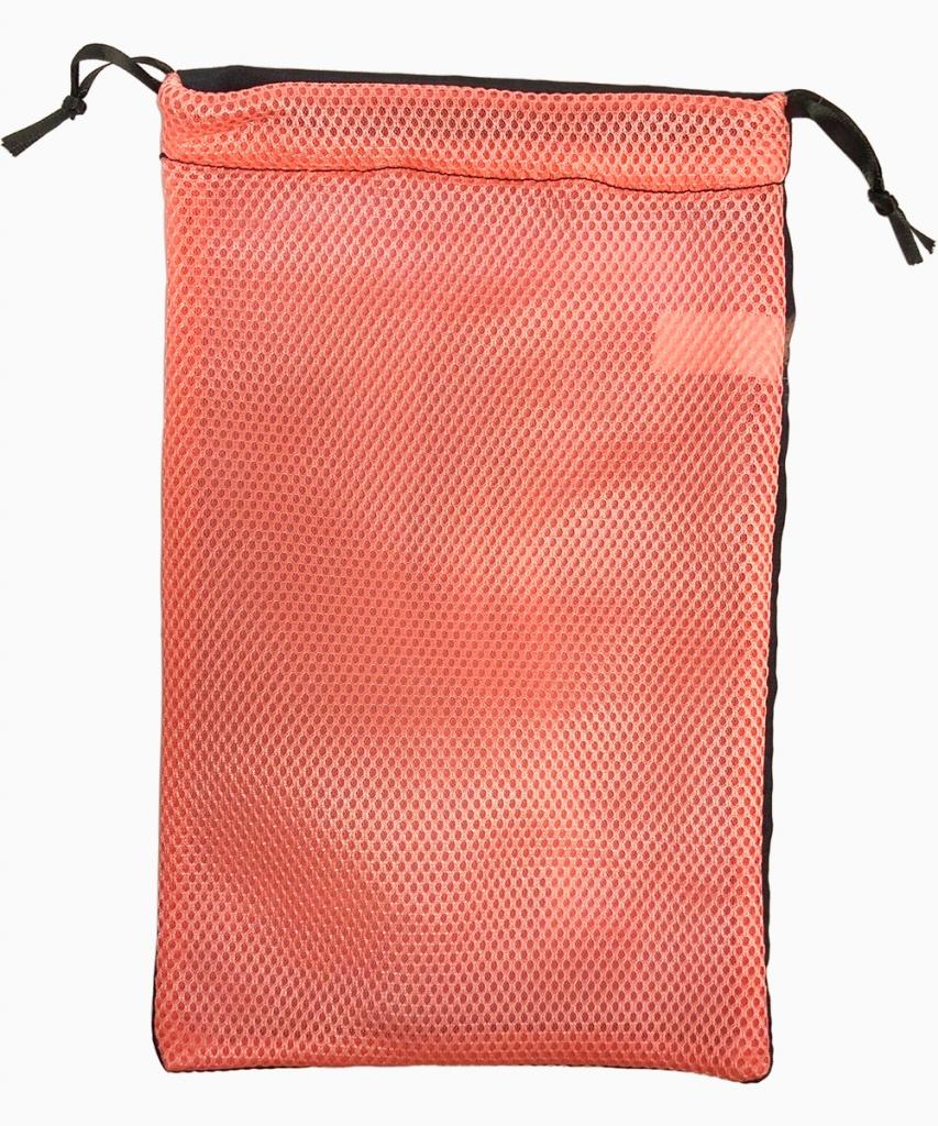 Tåspetsskopåse med nät (rosa)