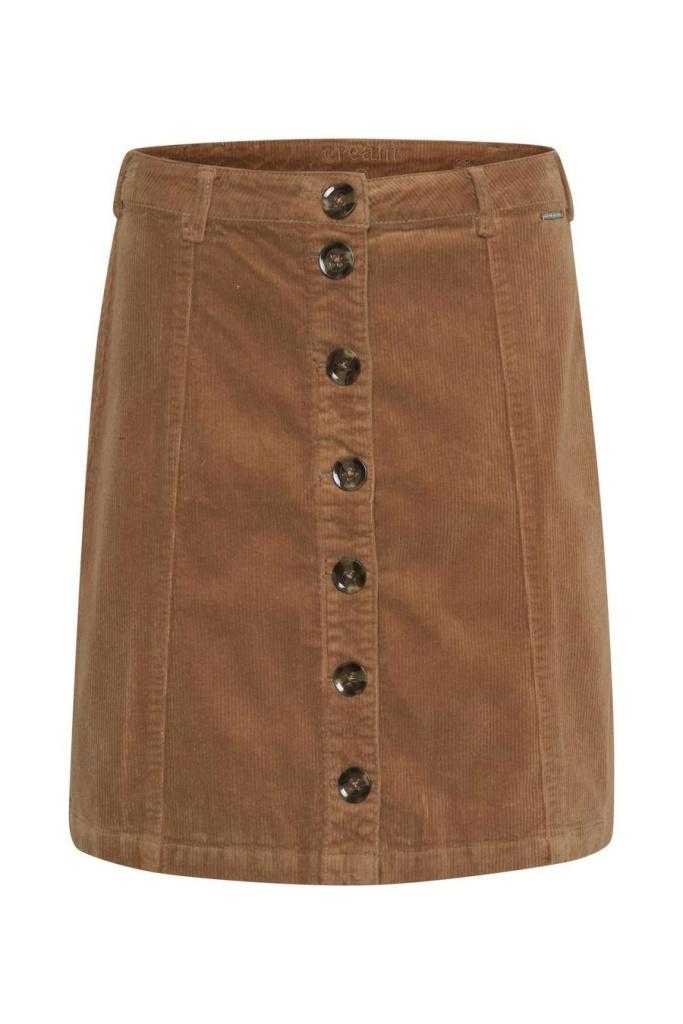 Cream Tria Skirt Soft Camel