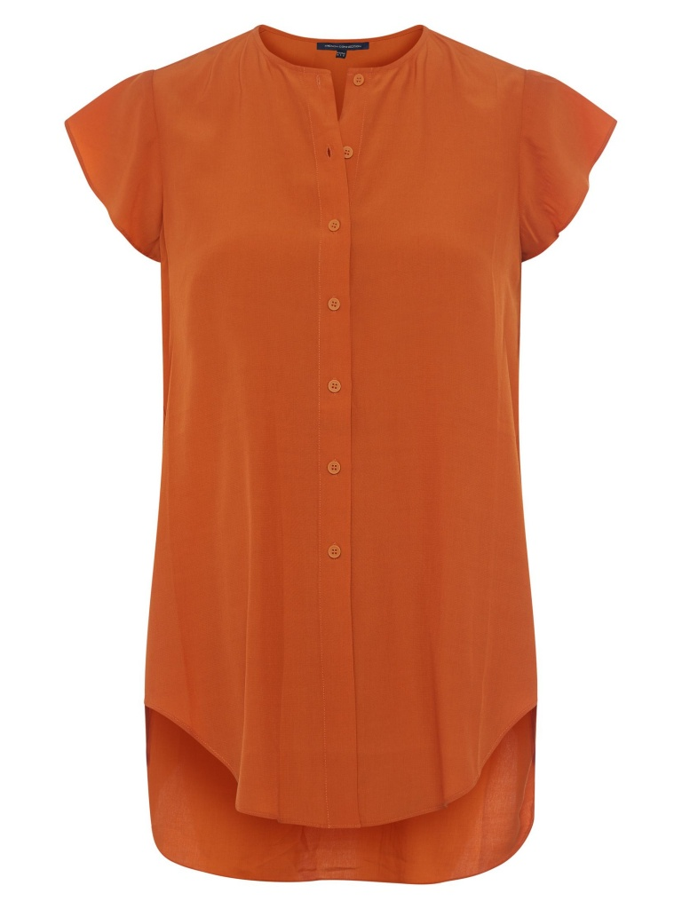French Connection Blus Copper Sunset