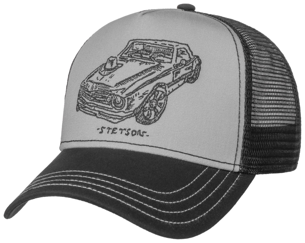 Stetson Trucker Cap Muscle Car and Hat