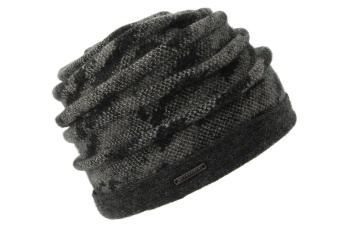 Seeberger Boiled wool cap with turn up