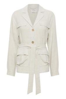 Cream Valentina Jacket Otd Melange