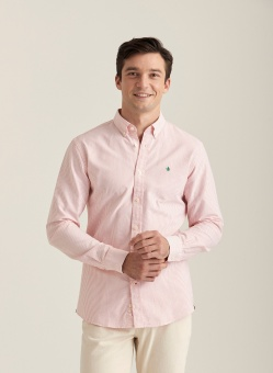 Morris Douglas Stripe Shirt