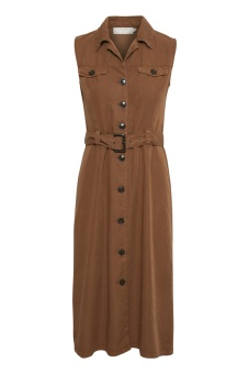 Cream Gaya Dress Bronzed
