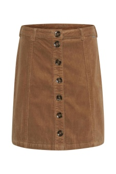 Cream Tria Skirt Soft Camel