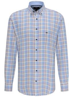 Fynch Hatton Summer Combi Check Shirt