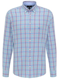 Fynch Hatton Combi Check Shirt