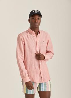Morris Douglas Linen Shirt LS