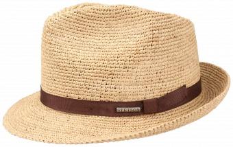 Stetson Alpena Player Crochet Raffia Hat