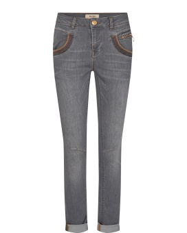 Mosmosh Naomi Shade Jeans Grey Regular