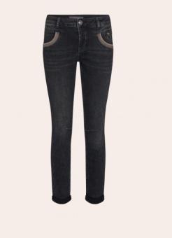 Mosmosh Naomi Shade Washed Jeans Grey Wash Regular