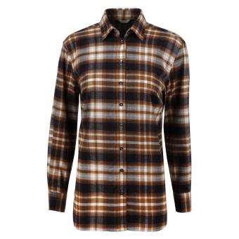 Stenströms Sammi Shirt Checked Flannel