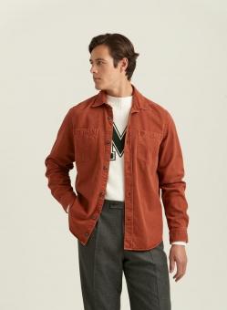 Morris Nendell Overshirt Orange