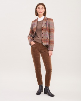 Newhouse Morland Tweed Blazer Fox