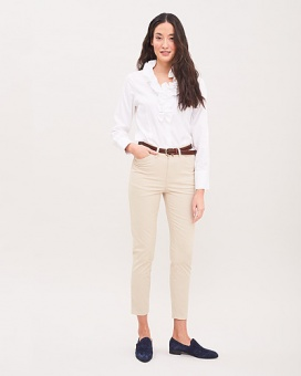 Newhouse Madeleine Chinos Golden Khaki