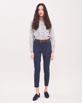 Newhouse Madeleine Chinos Soft Navy