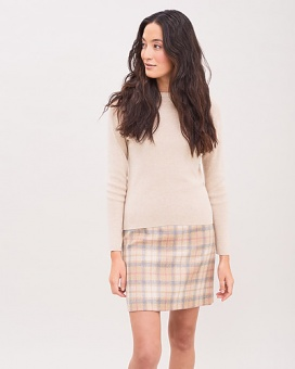 Newhouse Rib Sweater Golden Khaki