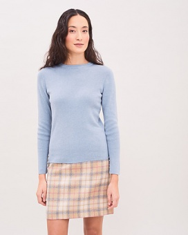 Newhouse Rib Sweater Dusty Blue