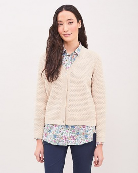 Newhouse Linn Cardigan Golden Khaki