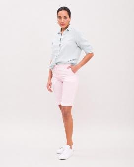 Newhouse Linen City Shorts Light Pink