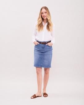 Newhouse Light Blue Denim Skirt