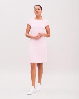 Newhouse Linen Dress Light Pink