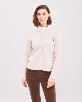 Newhouse Odette Cardigan Oat