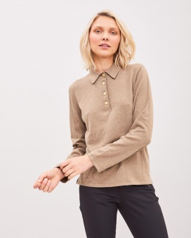 Newhouse Isola Knitted Sweater Green Khaki