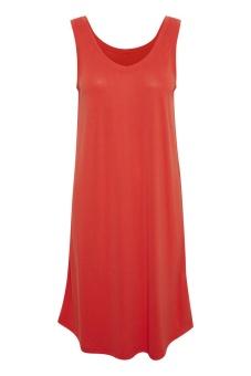 Culture Kajsa Strap Dress Fiery Red