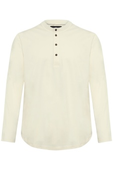 Matinique Henley Heritage Off White
