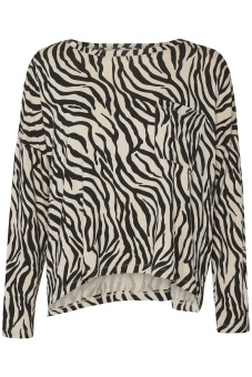 Part Two Keeley Cement Zebra Print