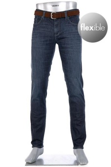 Alberto Dynamic Superfit Pipe Denim Navy
