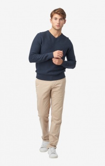 Boomerang David V-Neck Sweater Blue Nights
