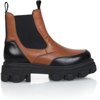 Shoe Biz Copenhagen Ulrica Cognac
