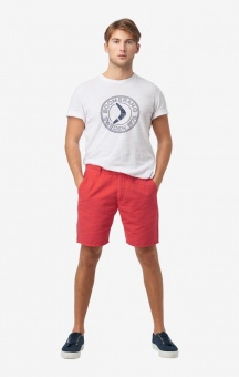 Boomerang Teddy Shorts Faded Red