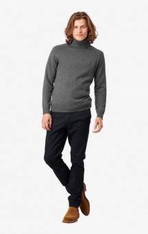 Boomerang Esbjörn Turtle Neck Sweater Grey melange