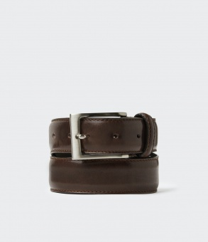 Saddler Odense belt Dark Brown