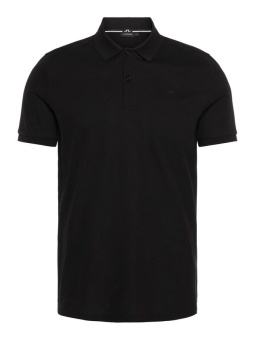 J.Lindeberg Troy Pique Shirt Svart