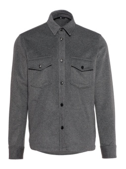 J.Lindeberg David Flat Wool Shirt