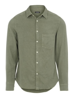 J.Lindeberg Comfort Tencel Slim Shirt Lake Green