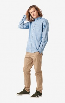 Boomerang Wilmer Flamé Shirt Electric Blue