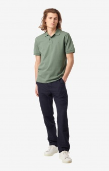 Boomerang Joe Organic cotton polo pique Venetian Green