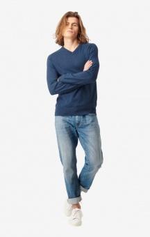 Boomerang Danny V-neck Sweater Midnight Blue