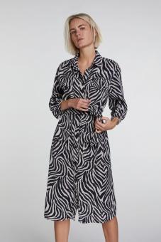 Oui Zebra Klänning