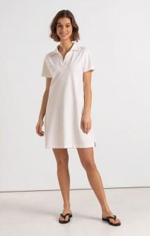 Boomerang Hanna Piquet Dress White
