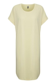 Culture Kajsa T-shirt Dress Double Cream
